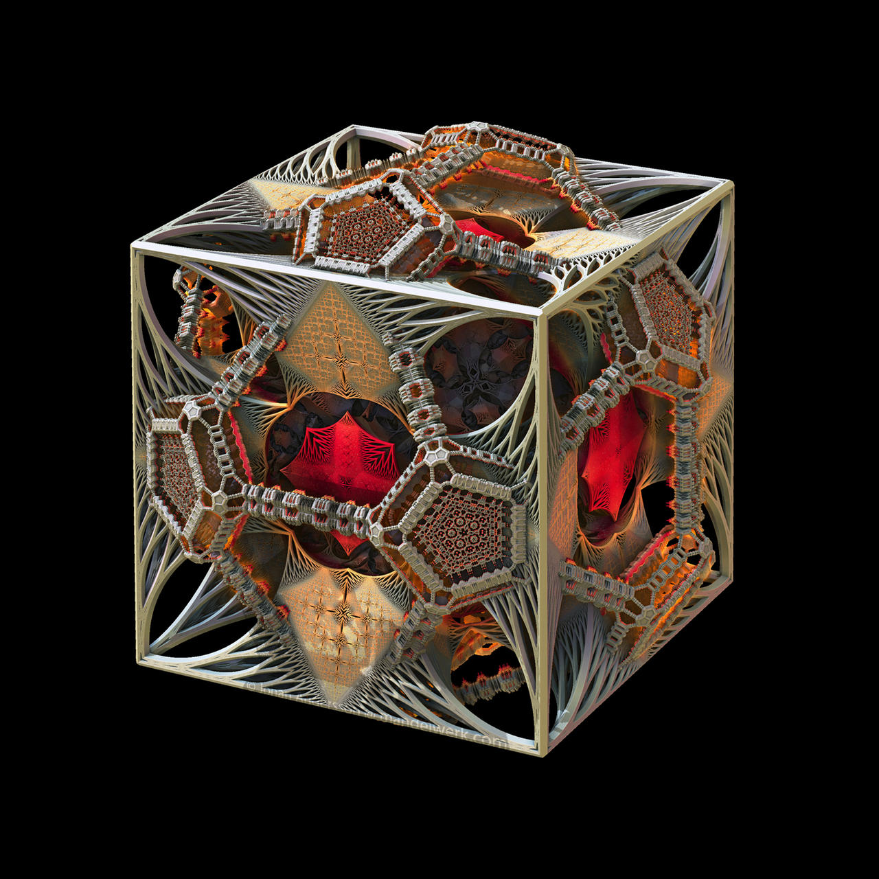 Mysterium Cosmographicum Fractalium by MANDELWERK