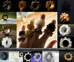 The Making of a Mandelbulb Ring Collection
