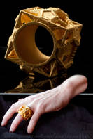 Cosmographicum Fractalium - The 3D printed Ring by MANDELWERK