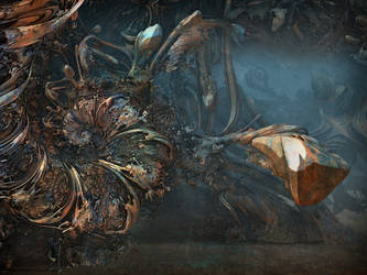 These Mad Horses of War Spiraling into Chaos by MANDELWERK