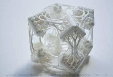 Cubic Woods - the 3D printed Fractal Sculpture