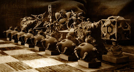 Surreal Chess Set - My Masterpieces - the Release