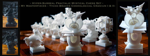 Surreal Chess Set - My Masterpieces - The Bishops