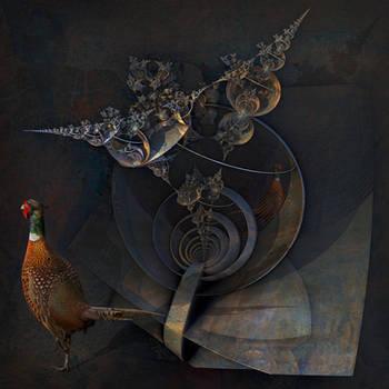 Tycho Brahes Cosmological Cranium by MANDELWERK
