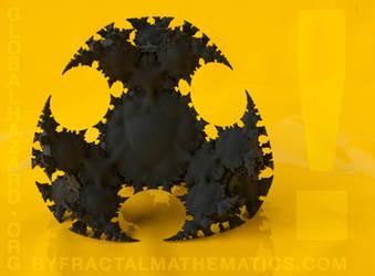 GLOBAL HAZARD - Super Detailed 3D Printed Fractal by MANDELWERK