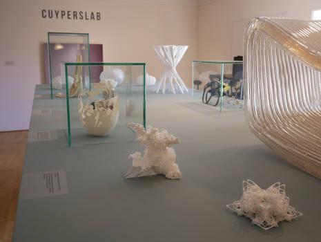 3D printed Fractal Sculptures @ Cuypershuis Museum