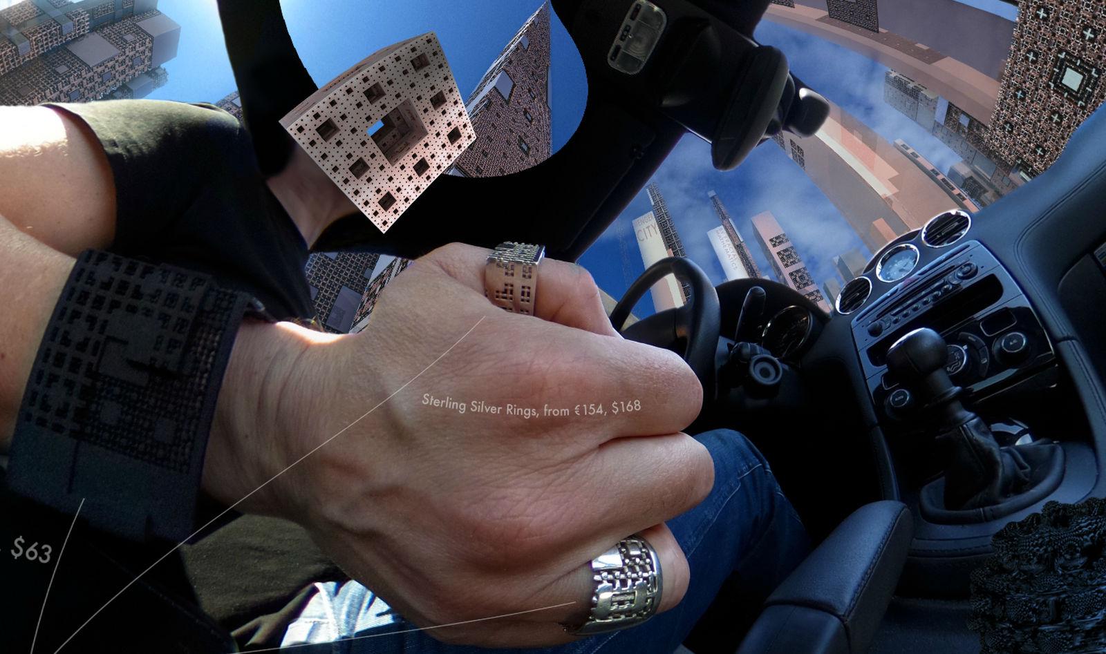 Menger City Cruise - 360 Degree Fractal Scenery by MANDELWERK
