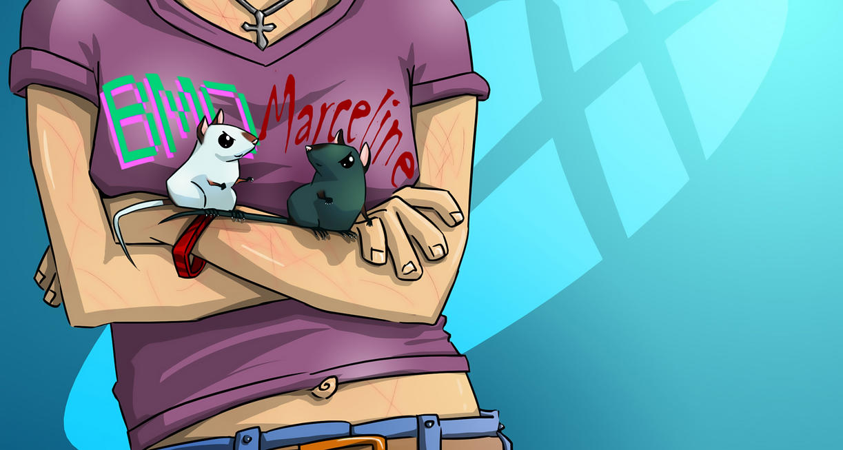 BiMO and Marceline by yasico
