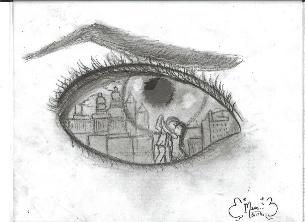 Dibujo Ojo By Theeiffeltower On DeviantArt