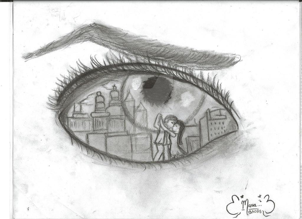 Dibujo Ojo By Theeiffeltower On DeviantArt