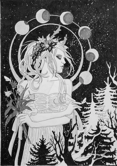 Moonchild by bloodypatch
