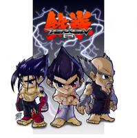 Mishima Clan by Trevone