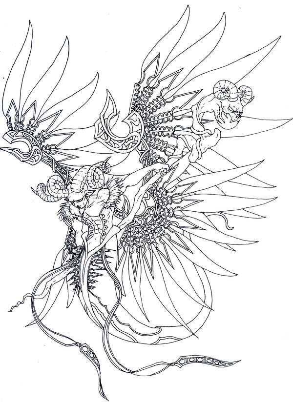 Aries by Trevone on DeviantArt
