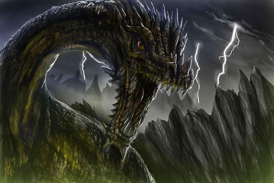 Dragon by Trevone