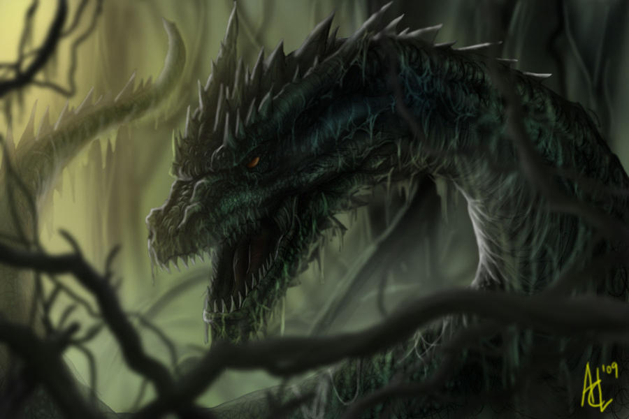 Swamp Dragon by Trevone
