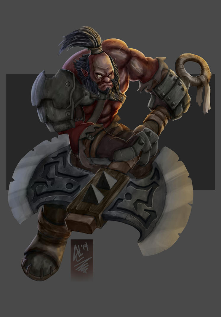 AXE - Dota 2 by Trevone