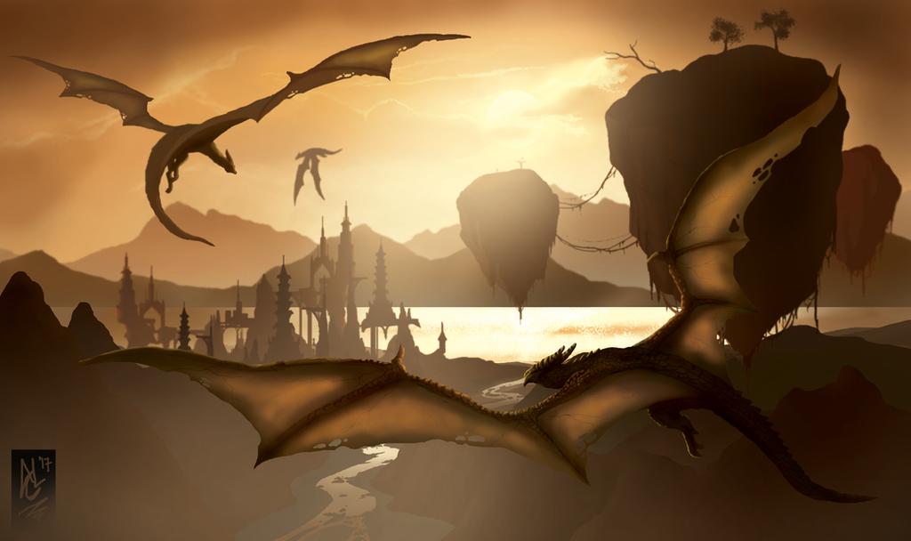 Post Meridiem Dragons by Trevone