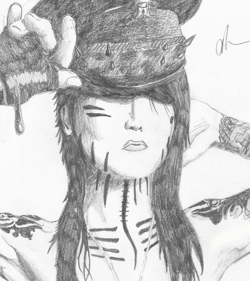 Ashley Purdy Drawing by Emotional-Train on DeviantArt