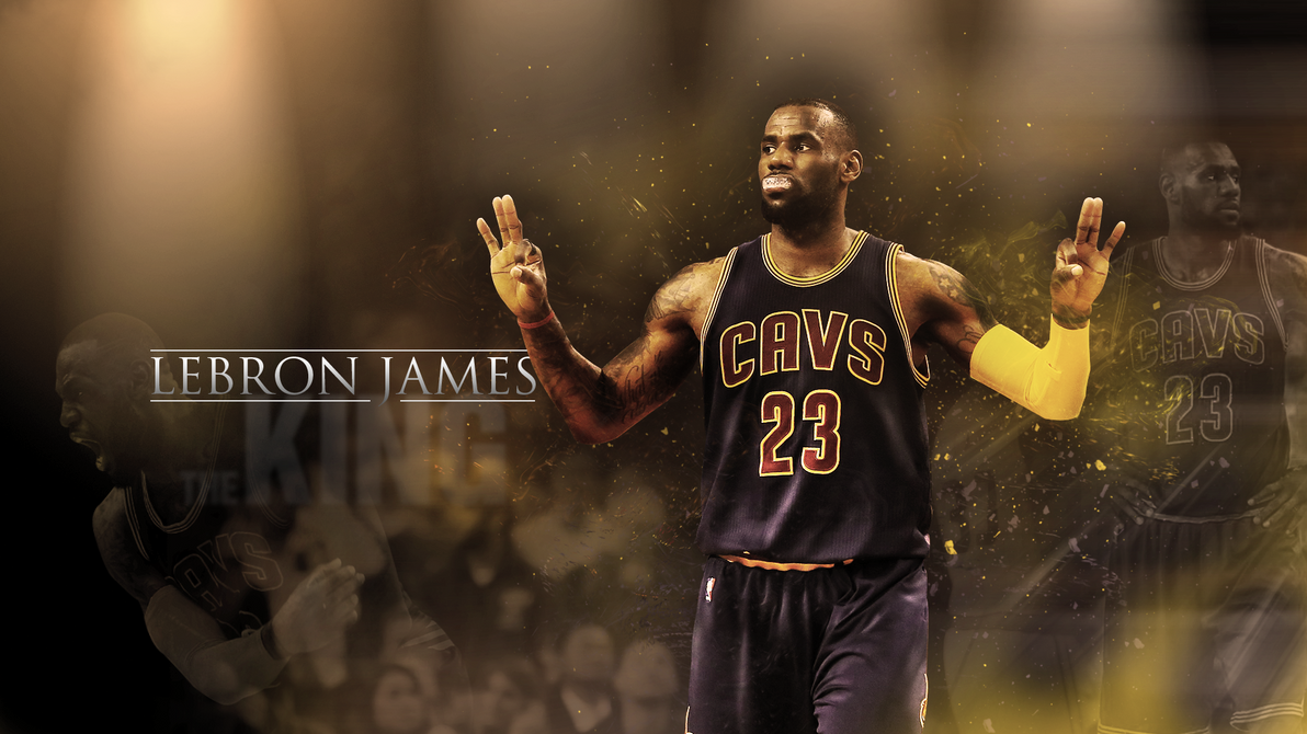 LeBron James Wallpaper Cleveland Cavaliers By ChasePS
