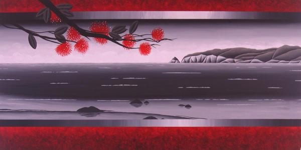 Pohutukawa Bay by Kiwi-Art