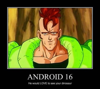 android 16 demotional poster by jungle king on deviantart