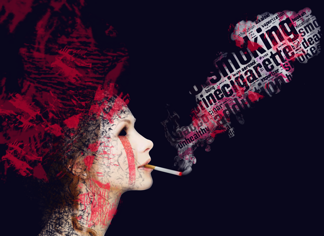 Anti-Smoking Campaign Poster Experimenting Ideas by Baryza ...