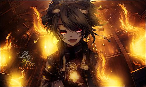 Boy in Fire by MikoKira