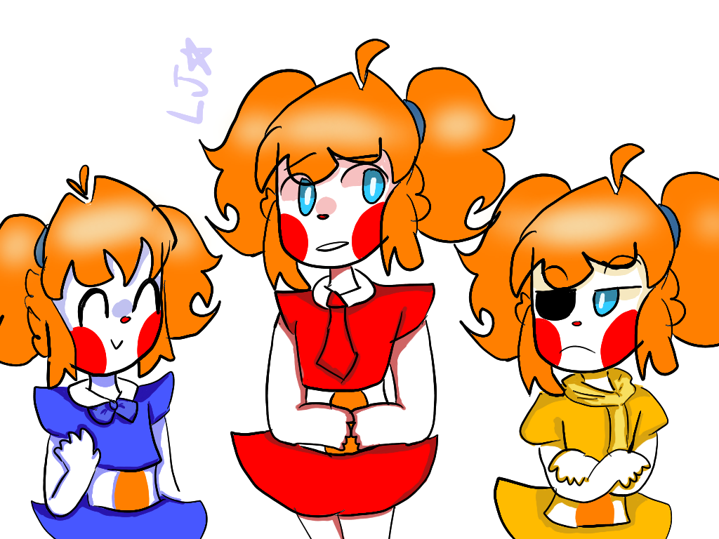 The Trio Babbles by MagicRainbowOfChica