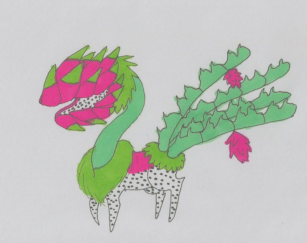 OmNom Weed - Dragon Fruit - ULTRA RARE by SparrowWrightheart