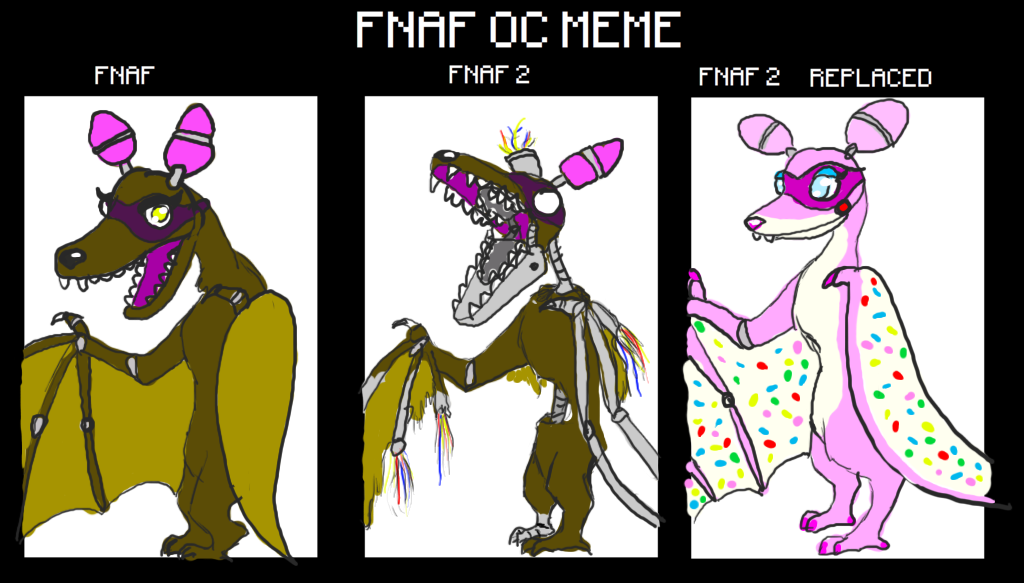 Draw Your Oc Template Cake