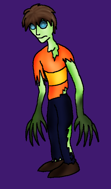 Advent - Day 9 - Zombie by SparrowWrightheart
