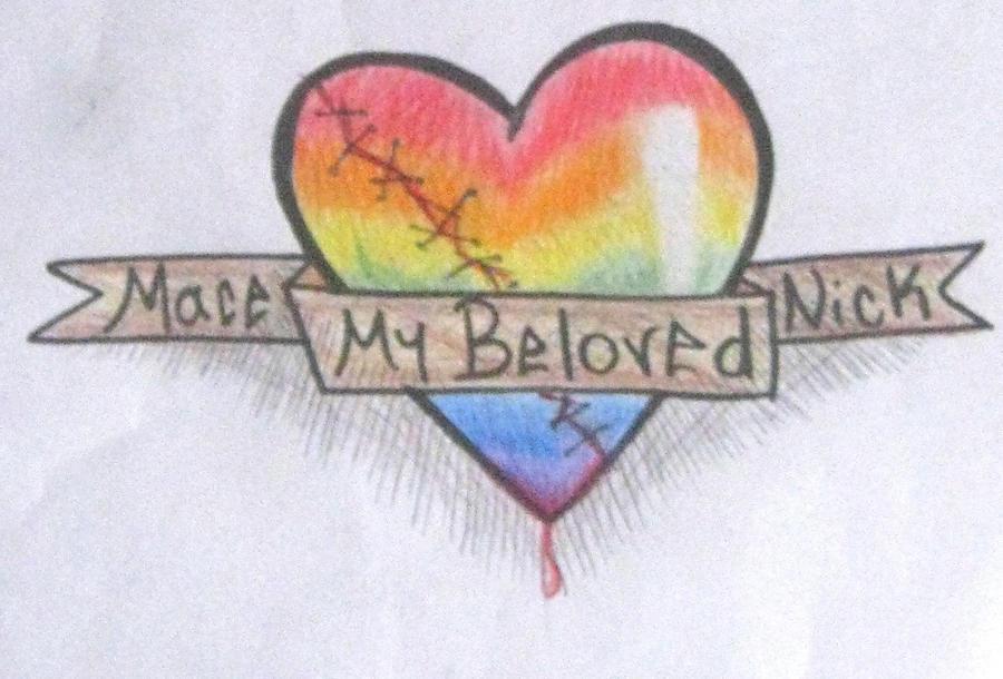 Rainbow Heart Tattoo Designs Design By