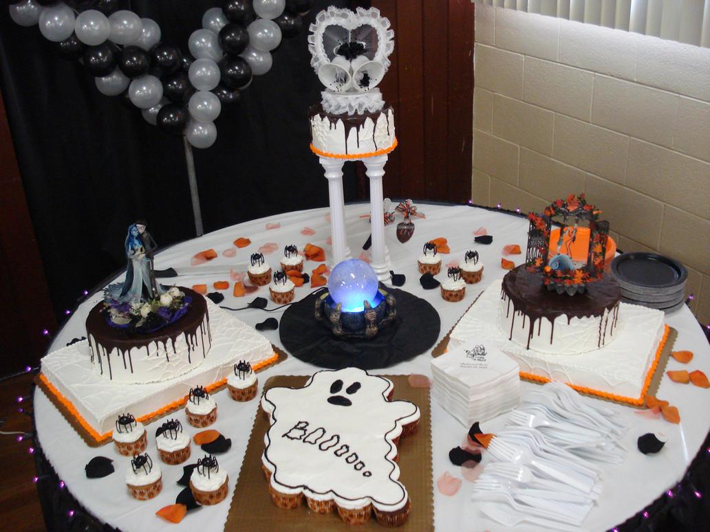 Halloween Wedding Cake - full by Erisana on DeviantArt