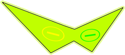Lazer Shades Sunlight Green by Hive-GF