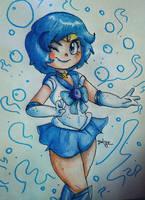 Sailor Mercury by Delijz