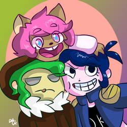 Principal heros by Delijz