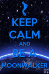 keep calm and moonwalk