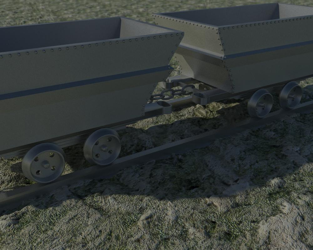 Mine Wagon - 04 by Janiashvili