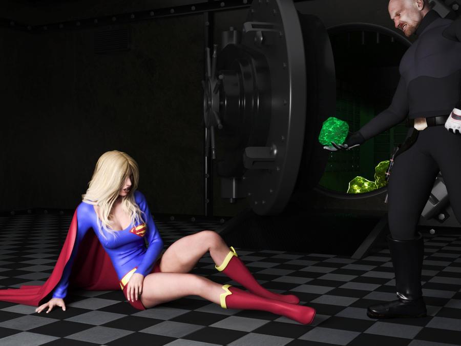Supergirl - Kryptonite Vault by Transformerman