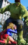 Supergirl - Hulk Smash?