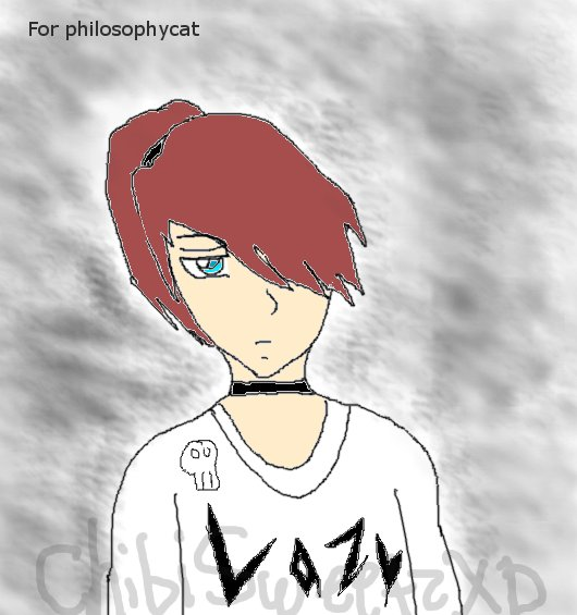 Anime boy Lazy by ChibiSweetzXD on deviantART