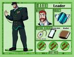 Z-Parasites: GG leader ref by HronawmonsTamer