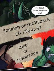 Journey of the Broken Pg.46-47 by HronawmonsTamer