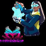 Render   Symmetra - Overwatch (Spray Xmas 2016)