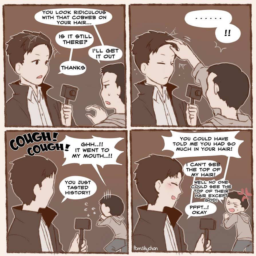 Buzzfeed Unsolved : Comic Strip by natiasewid