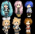 Vocaloid Chibis