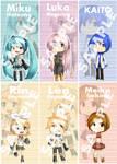 Vocaloid Bookmarks
