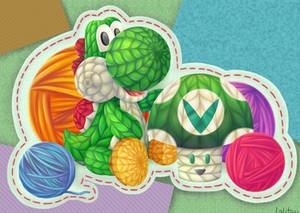 Yoshi's Woolly World (Vinesauce)
