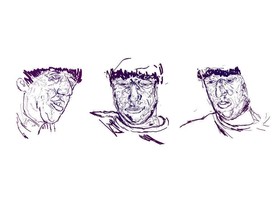 Triptych by Mewtw0