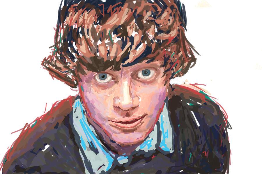 Self Portrait by Mewtw0